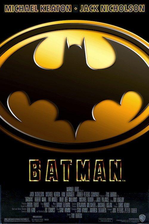 Batman - Nicholson - Keaton - 1989 Theatrical Poster