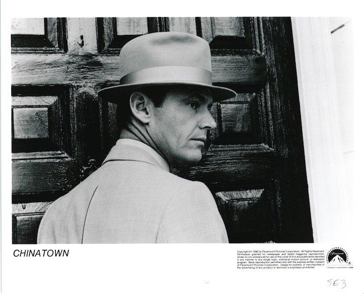 Chinatown - Jack Nicholson - Press Photograph