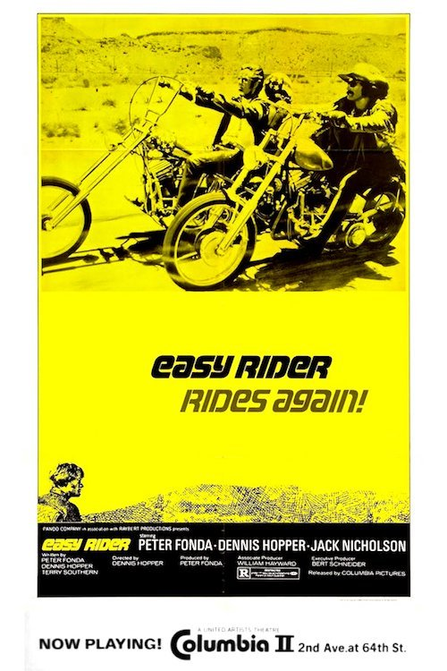 Easy Rider Rides Again - 1972 Vintage NYC Poster