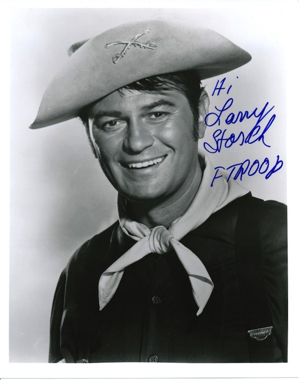 F Troop - Larry Storch - Autographed Photograph
