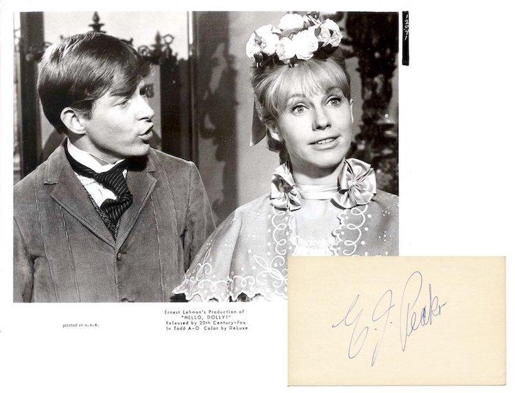 Hello Dolly! - E.J. Peaker - Autograph