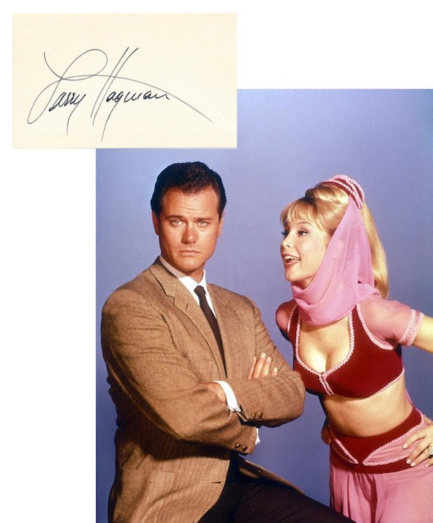 I Dream of Jeannie - Autographed Group Lot