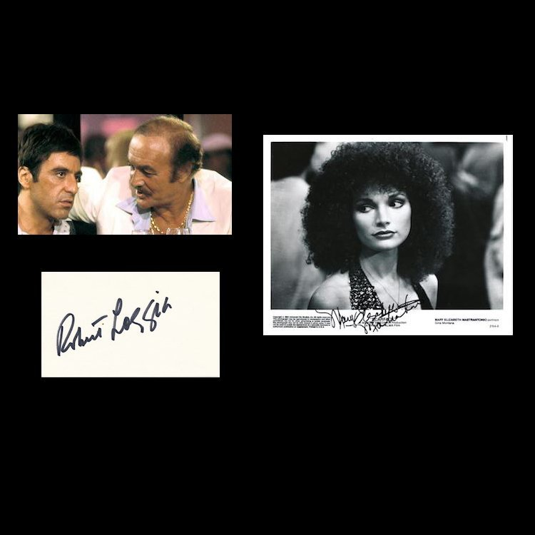 Scarface - Autographed Group Lot
