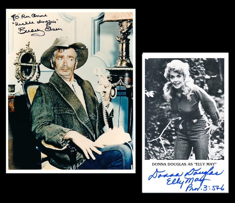 The Beverly Hillbillies - Autographed Group Lot