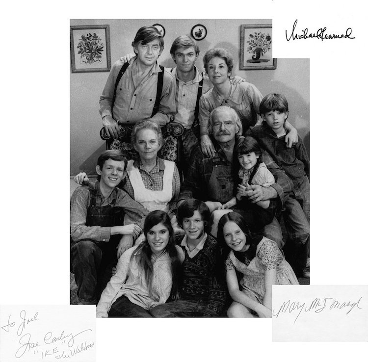 The Waltons - Autographed Group Lot