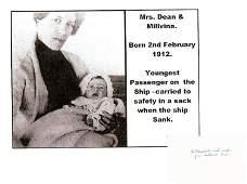 Titanic - Millvina Dean - Last Survivor of The Titanic