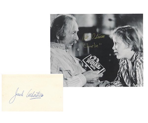 Willy Wonka & the Chocolate Factory - Autographs