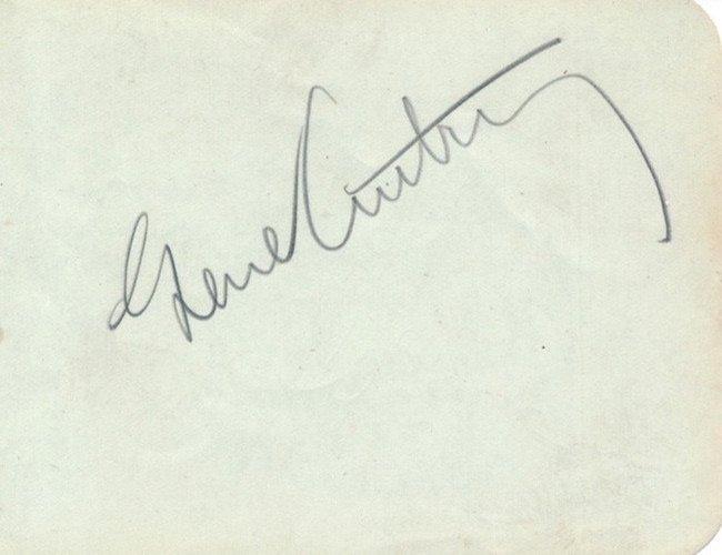 Gene Autry Autograph