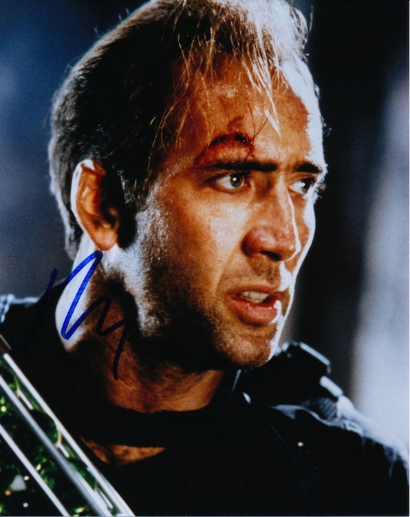 Nicolas Cage Autographed Photograph