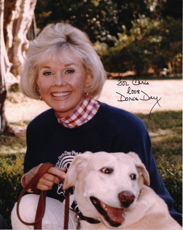 Doris Day Autographed Photograph