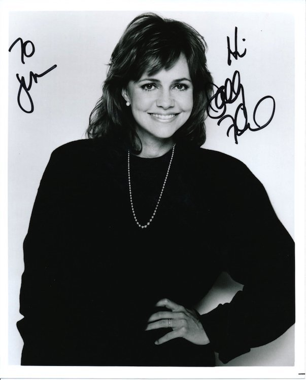 Sally Field Autographed Photograph
