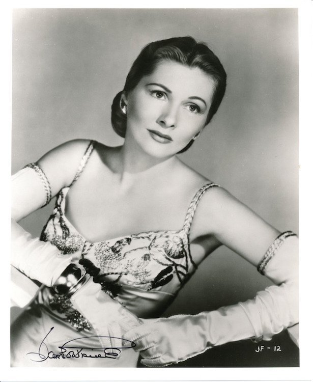 Joan Fontaine Autographed Photograph