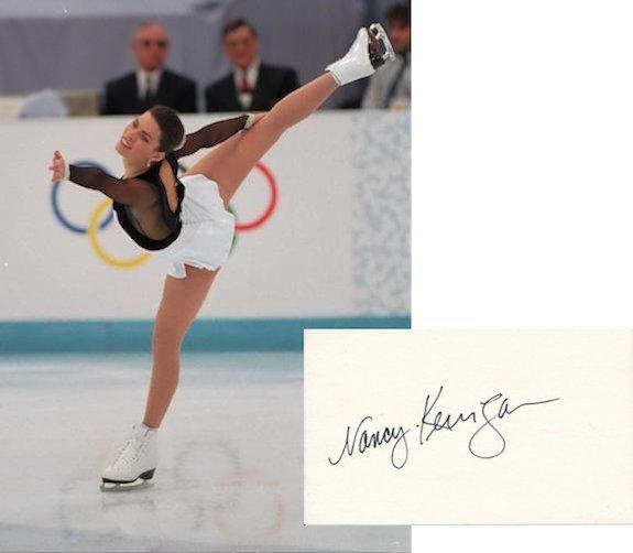 Nancy Kerrigan Autograph
