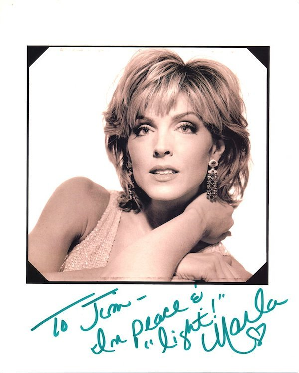 Marla Maples Autographed Photograph