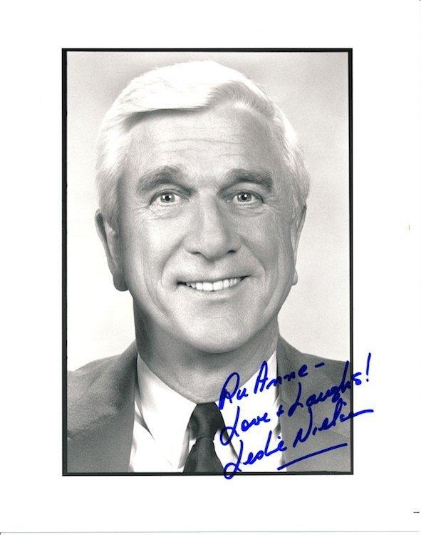 Leslie Nielsen Autographed Photograph