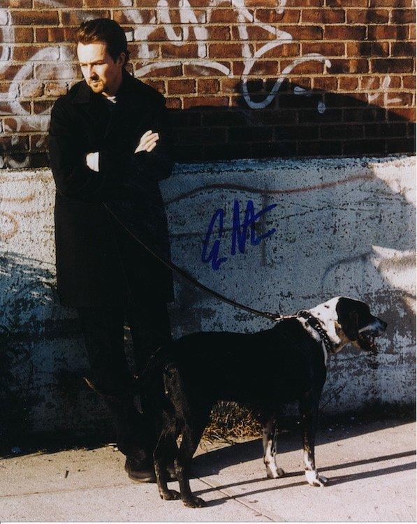 Edward Norton Autographed Photograph