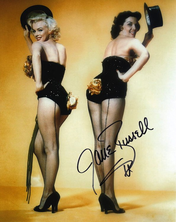 Jane Russell Autographed Photograph