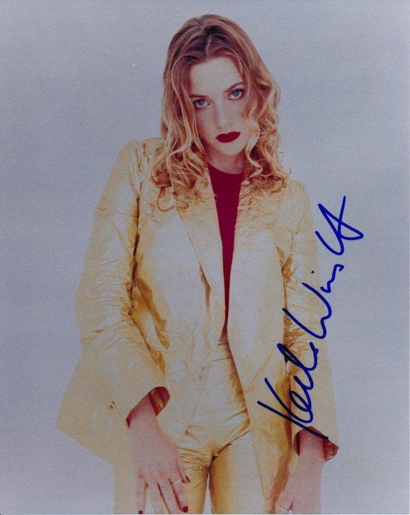 Kate Winslet Autographed Photograph