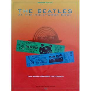 Beatles Hollywood Bowl 1977 Poster