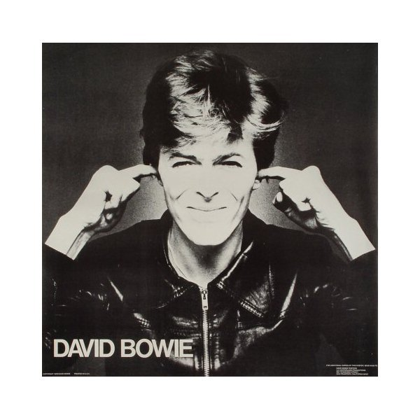David Bowie - 1978 Promotional Poster