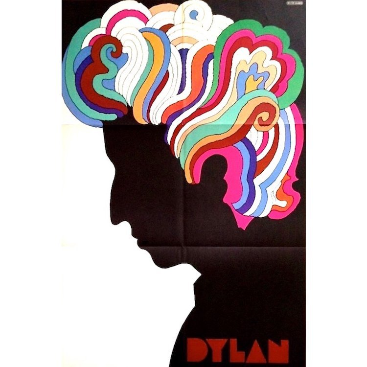 Bob Dylan - 1966 Milton Glaser Poster