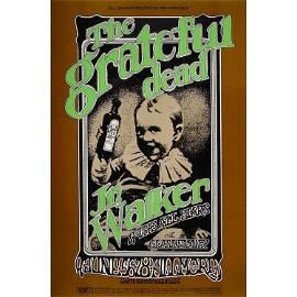 Grateful Dead - 1969 Fillmore Poster