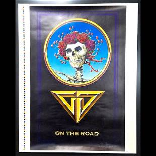 Grateful Dead On The Road 1978 Promo Poster