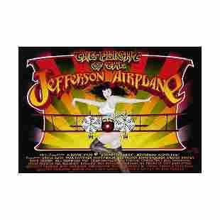 Jefferson Airplane 1998 VH1 Concert Poster