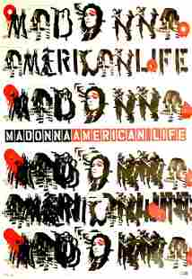 Madonna American Life 2003 Promotional Poster
