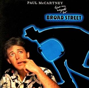 Paul McCartney Give My Regards to Broad Street Poster