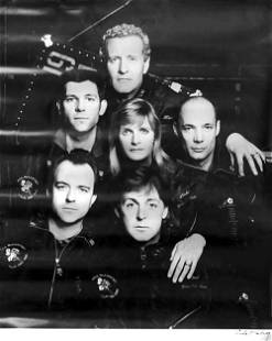 Paul McCartney 1989 Concert Poster
