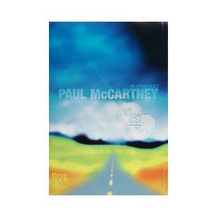 Paul McCartney Back in the US Signed Concert Poster