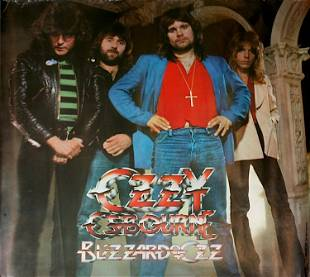 Ozzy Osbourne Blizzard Of Ozz Poster