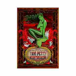 Tom Petty the Heartbreakers 1997 Concert Poster