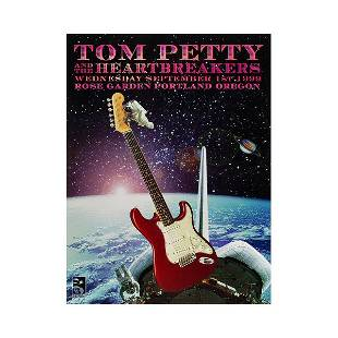 Tom Petty the Heartbreakers 1999 Concert Poster