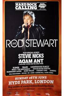 Rod Stewart 2011 Hard Rock Calling Concert Poster