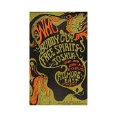The Who  1968 Fillmore East Concert Poster