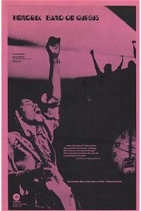 Jimi Hendrix - Band of Gypsys - 1970 Handbill