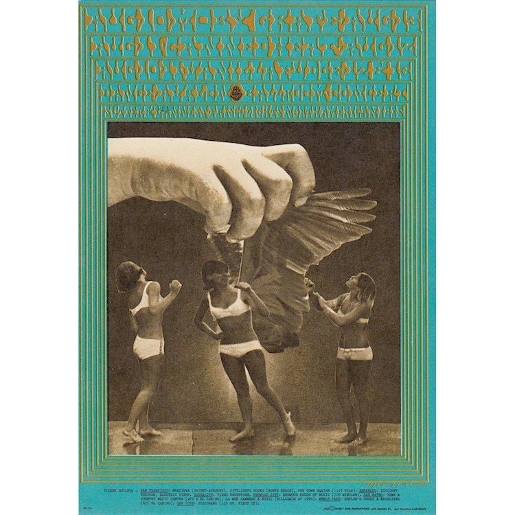 Vanilla Fudge - Moby Grape - 1967 Concert Handbill