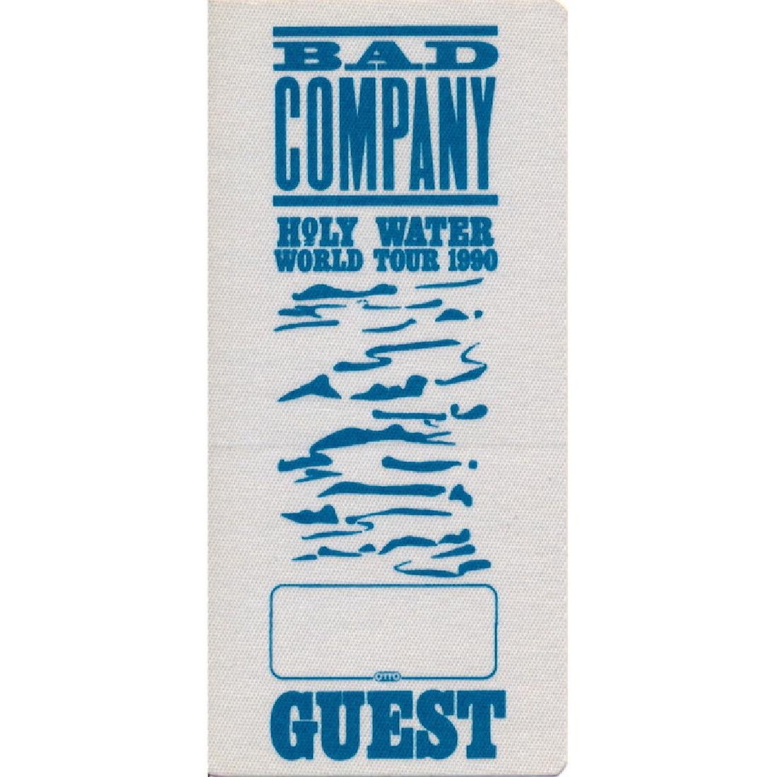Bad Company  - 1990 Backstage Pass