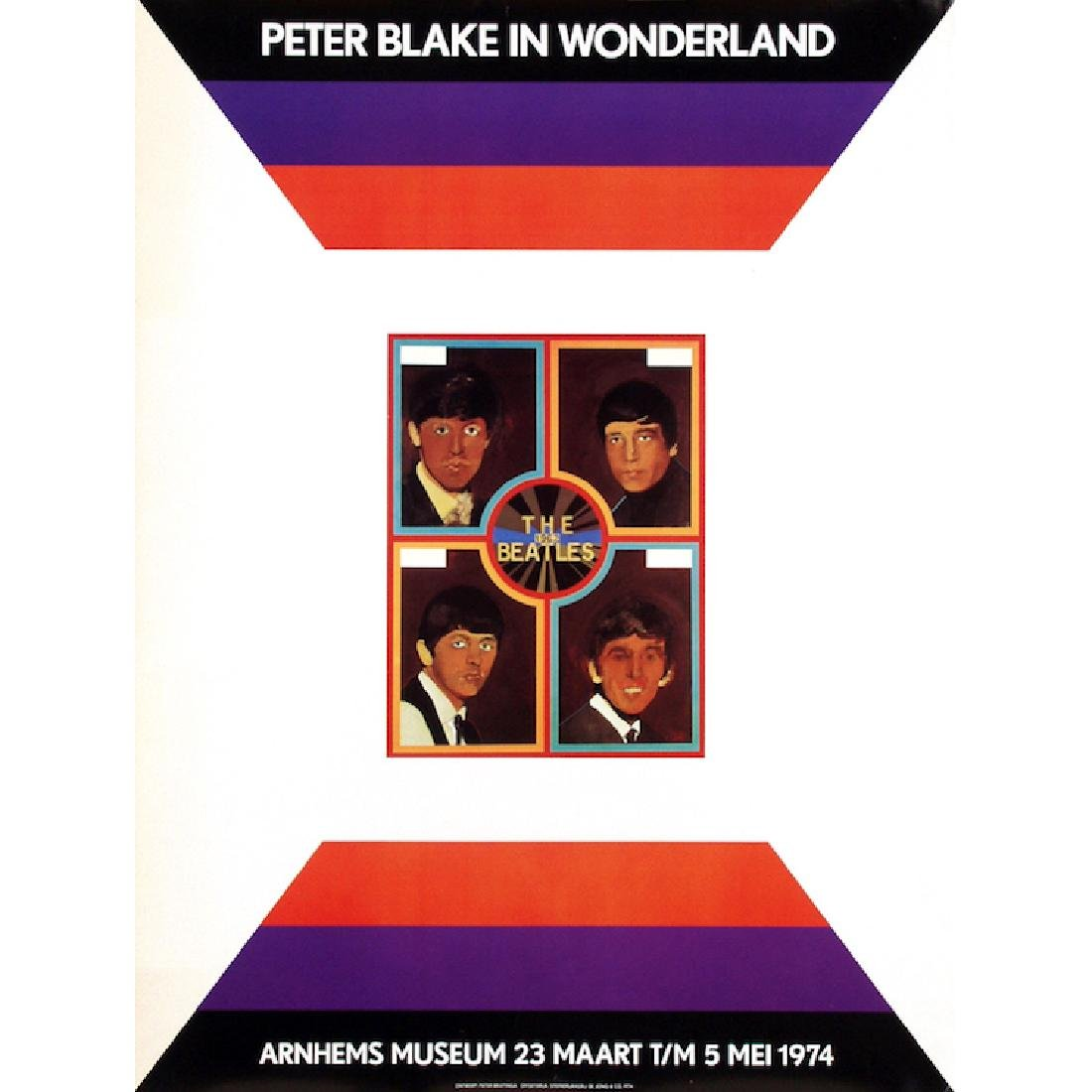 Beatles - Peter Blake in Wonderland - 1974 Poster