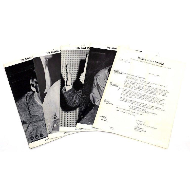 Beatles - 1965 USA Fan Club - Ltd Edition Photo Album