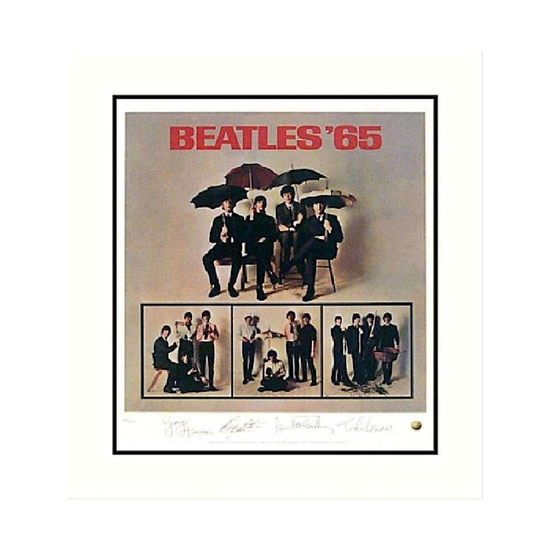 Beatles - Beatles 65 - Limited Edition Lithograph Print