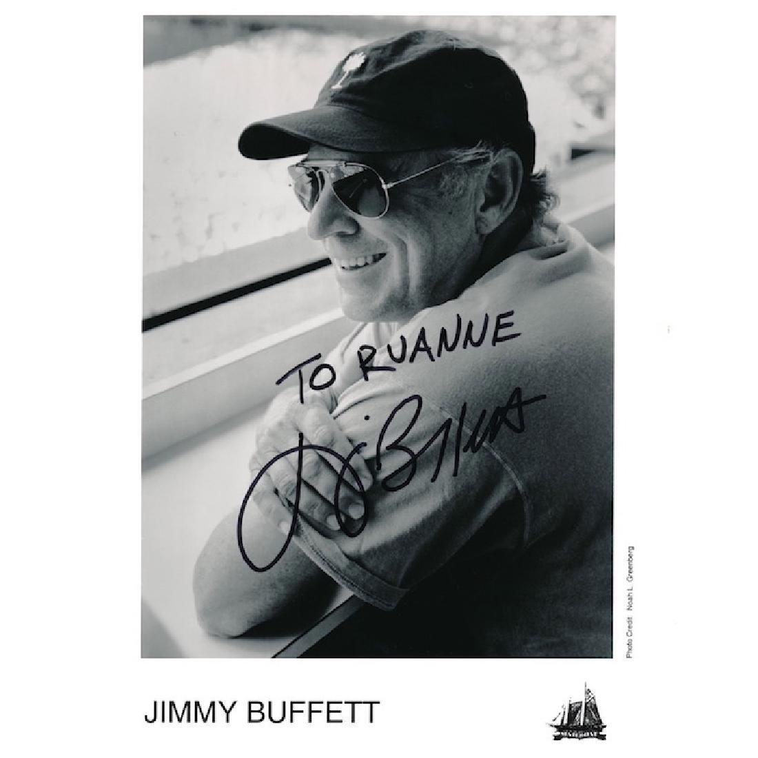 Jimmy Buffett Autographed Photograph