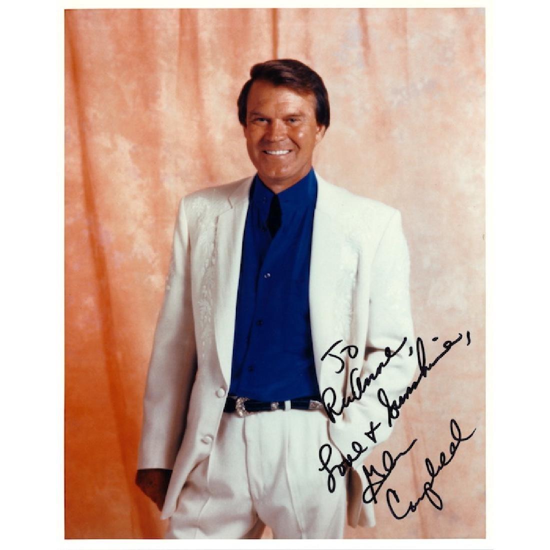 Glen Campbell Autographed Photograph