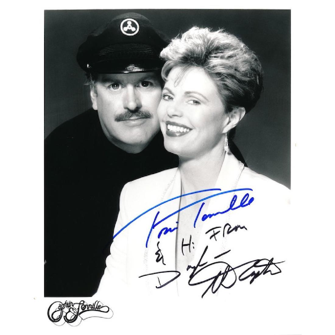 Captain & Tennille Autographed Photograph