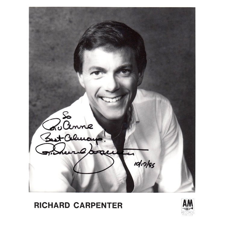 Richard Carpenter Autographed Photograph