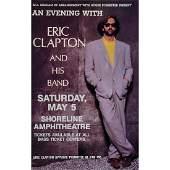 Eric Clapton - 1990 Concert Poster