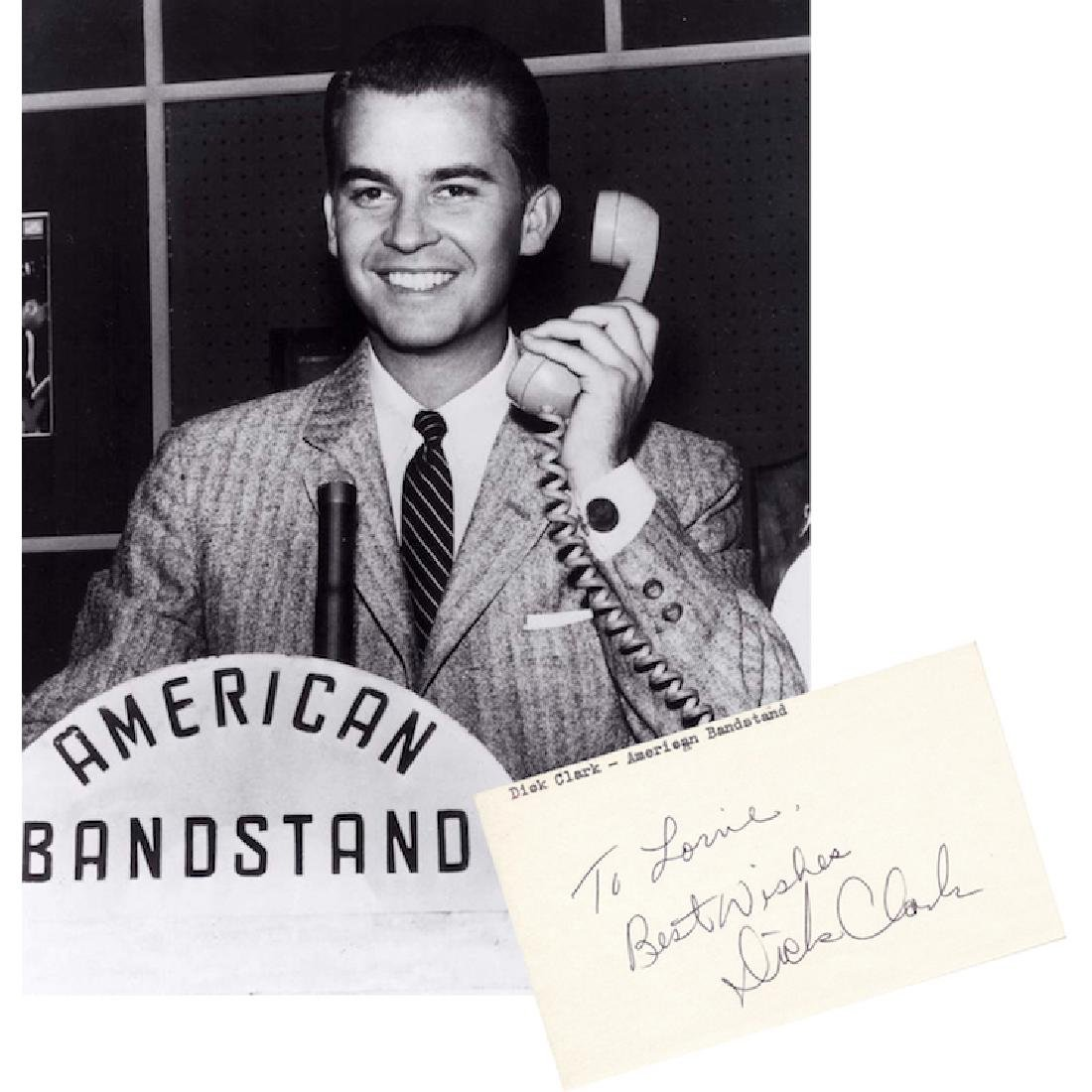 Dick Clark - American Bandstand - Autograph