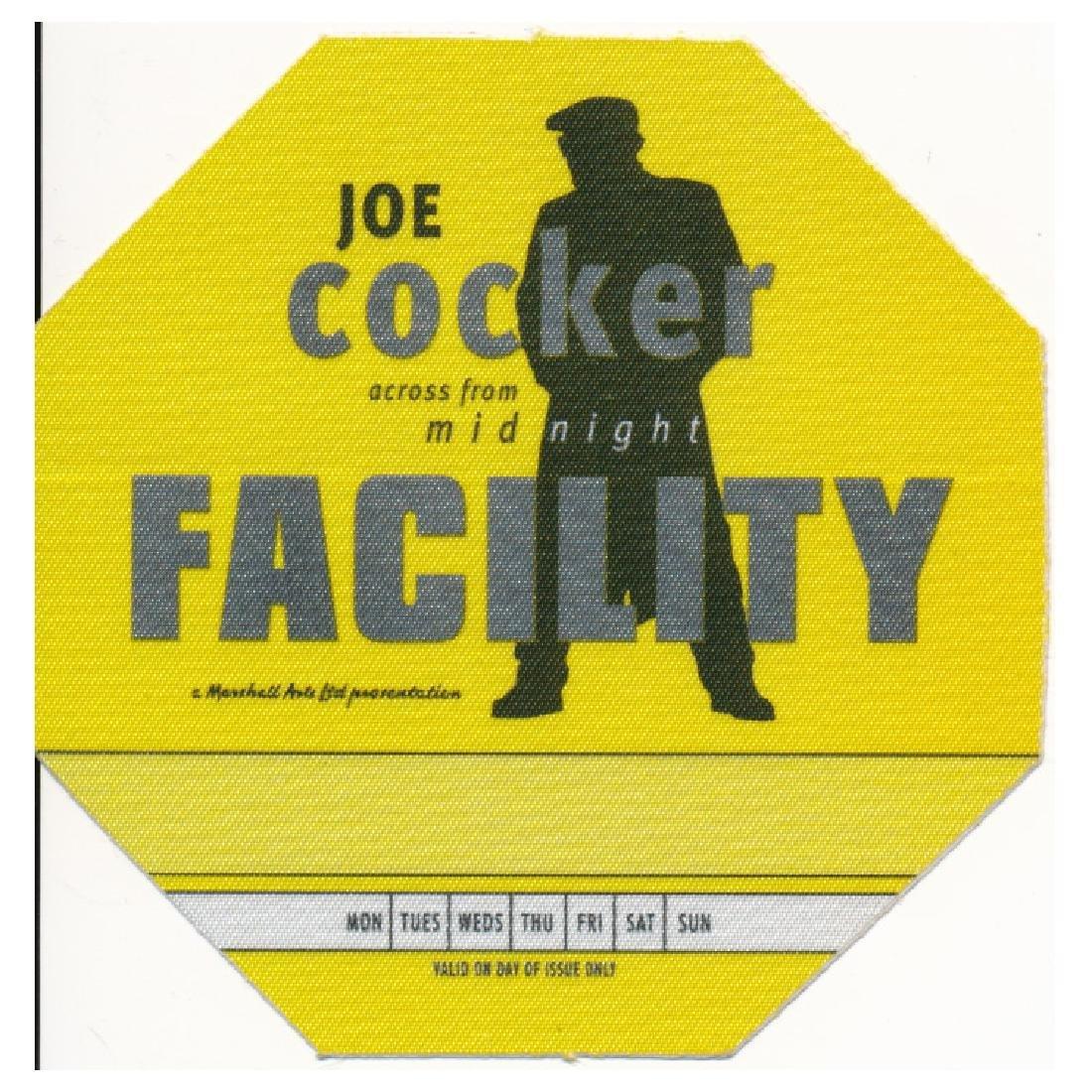 Joe Cocker - 1997 Backstage Pass